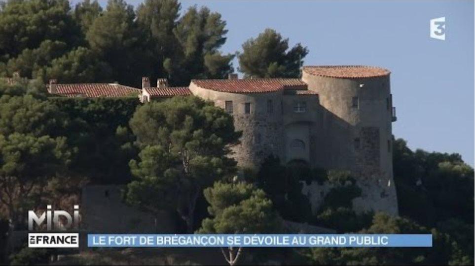 SUIVEZ LE GUIDE : Le fort de Brégançon se dévoile au grand public