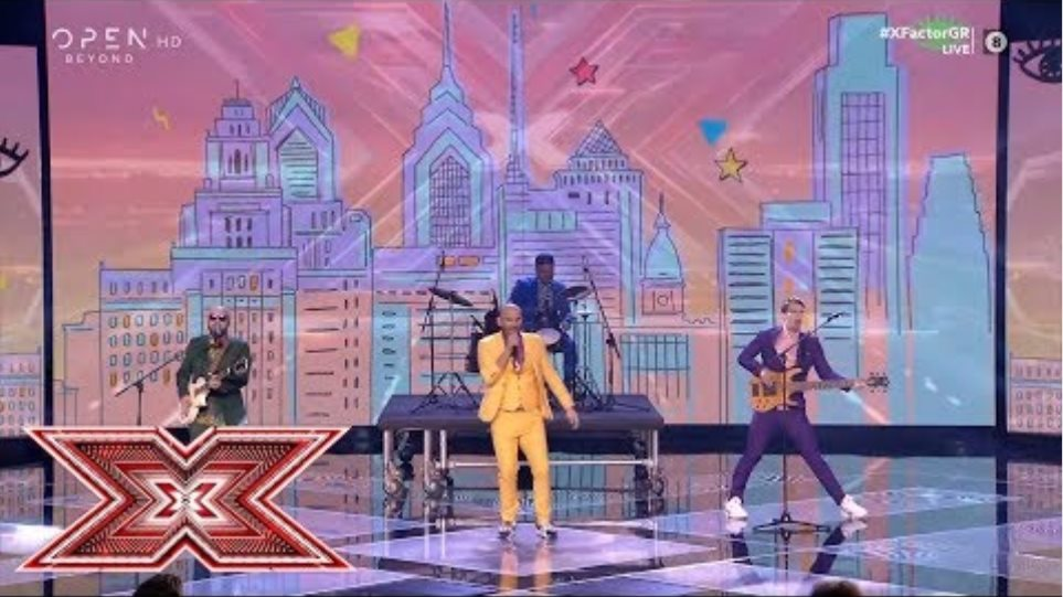 «Cake by the ocean» από τους DAF | Live 1 | X Factor Greece 2019