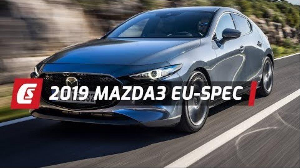 2019 Mazda3 Euro-Spec | Walkaround And Driving