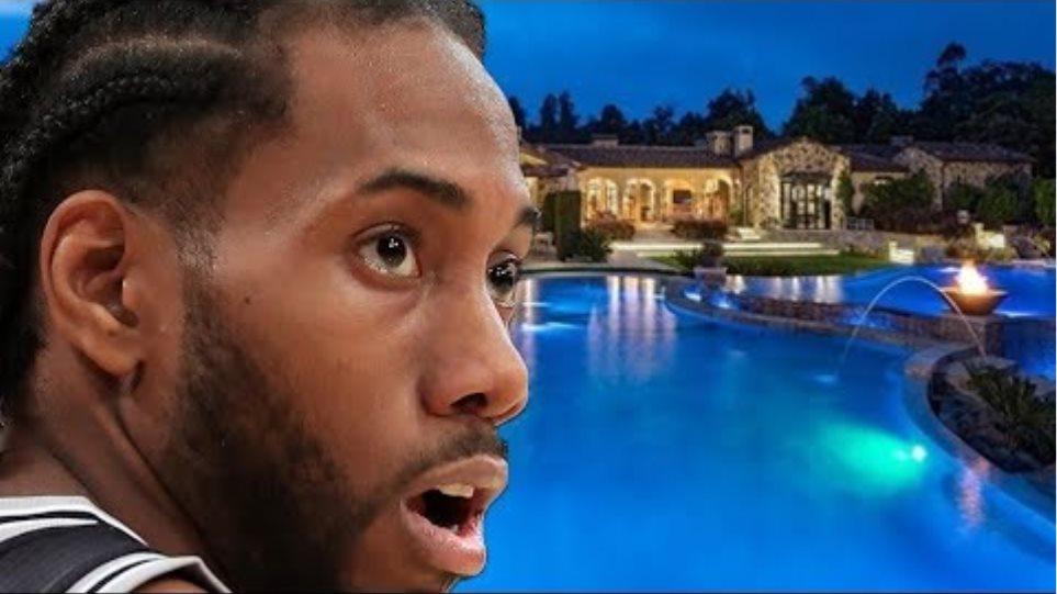 Η Kawhi Leonard αγοράζει ένα μεγάλο σπίτι στην Καλιφόρνια, υπαινιγμό για την ένταξη των Clippers ή Lakers!