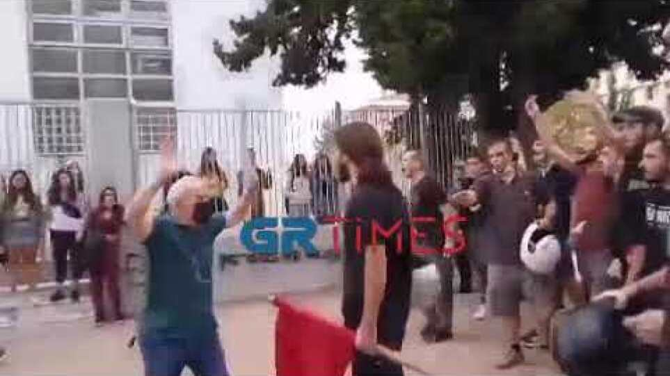 Επεισόδια ΕΠΑΛ Σταυρούπολη - GRTimes.gr