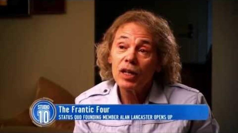 Alan Lancaster Talks 'Status Quo' | Studio 10
