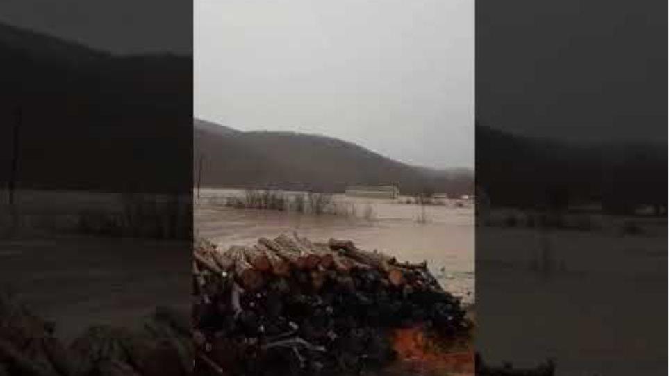 Σουφλί: Πλημμύρισαν τα πάντα