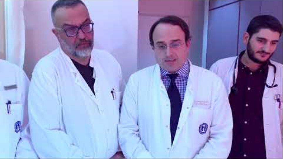 Οι γιατροί που χειρούργησαν τον Ιαβέρη και το γιο του μιλούν στο protothema