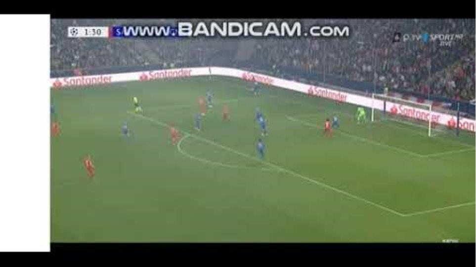 Haland Goal vs Genk !Salzburg genk 1 0