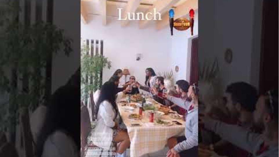 Reunion για τους παίκτες του Survivor - Το λουκούλλειο γεύμα στη Σαρωνίδα