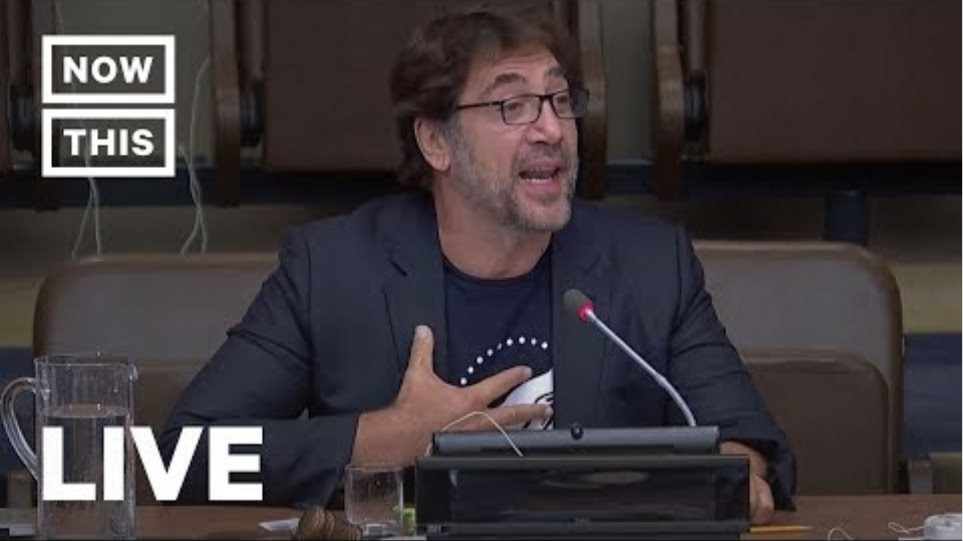 Javier Bardem Speaks at the UN on Our Oceans | NowThis