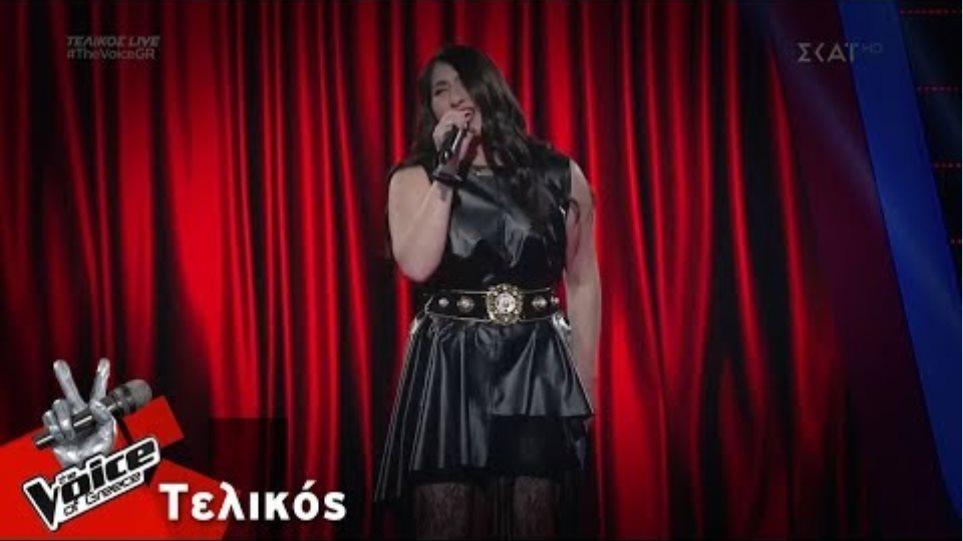 Αριάδνη Νεοφύτου - Back to Black | Τελικός | The Voice of Greece