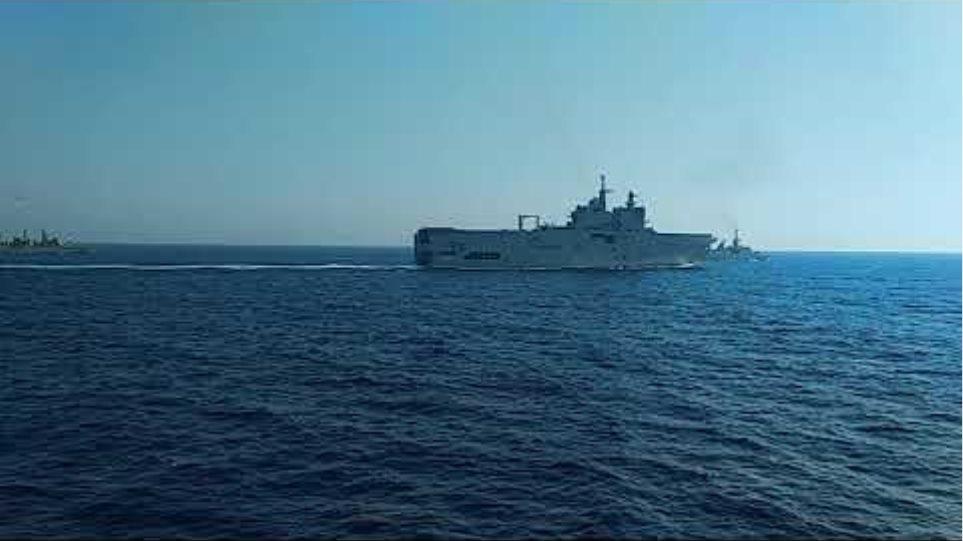 Ελληνογαλλική ασπίδα: Δείτε βίντεο και φωτογραφίες από την κοινή άσκηση στην Ανατολική Μεσόγειο (3)