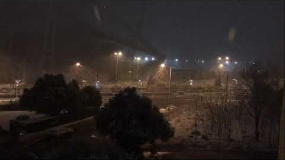 Μαρούσι - χιονόπτωση