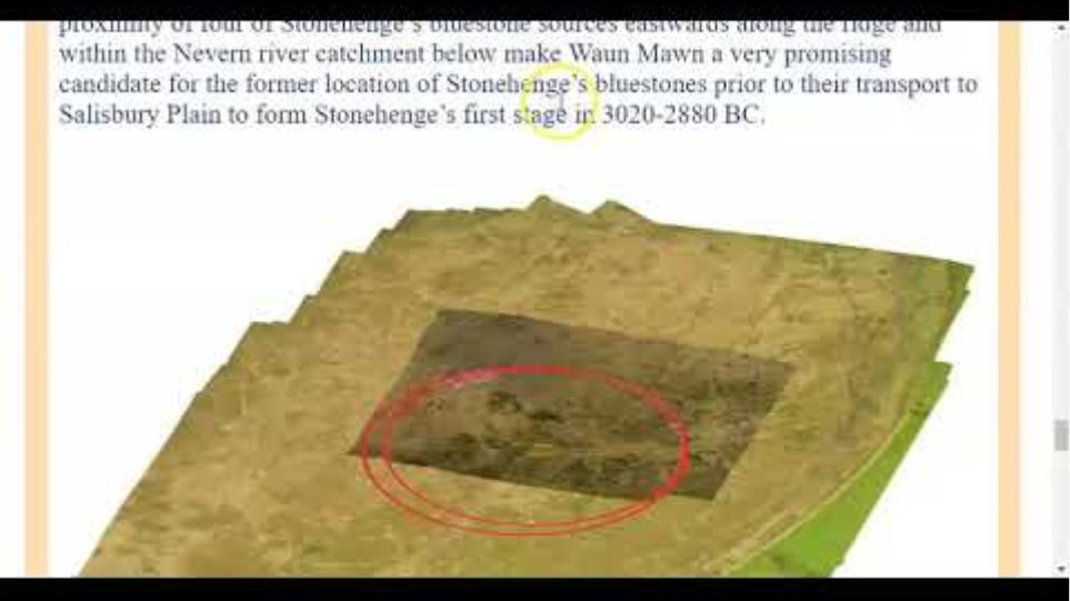 Stonehenge Bluestone Henge - Waun Mawn Megalithic Yard Part 8..