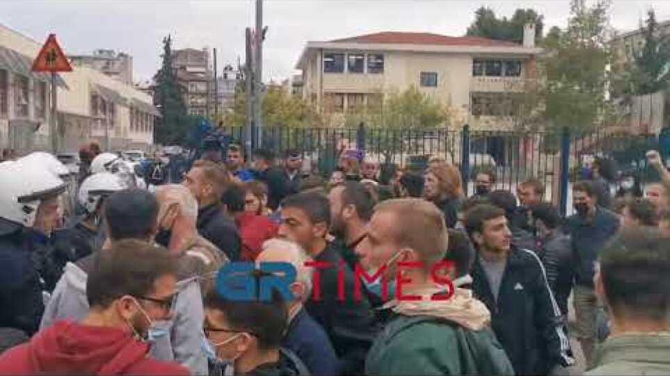 Επεισόδια στο ΕΠΑΛ ΣταυρούποληςGrTimes