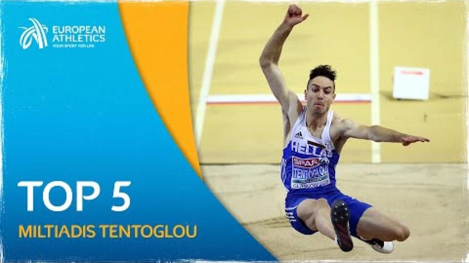 Miltiadis Tentoglou's LEGENDARY TOP 5 European Championship Performances