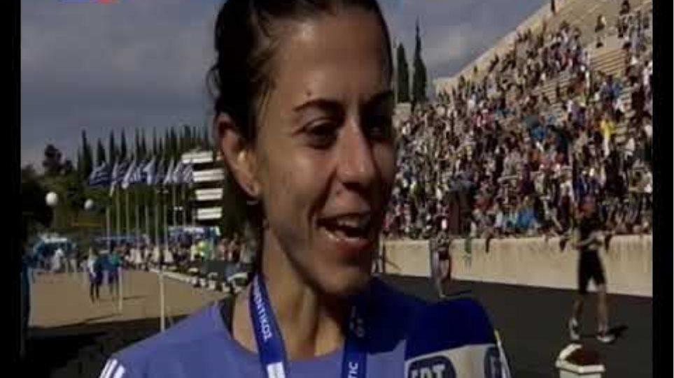 Νικήτριες Πανελλήνιου Πρωταθλήματος Μαραθωνίου - Δηλώσεις