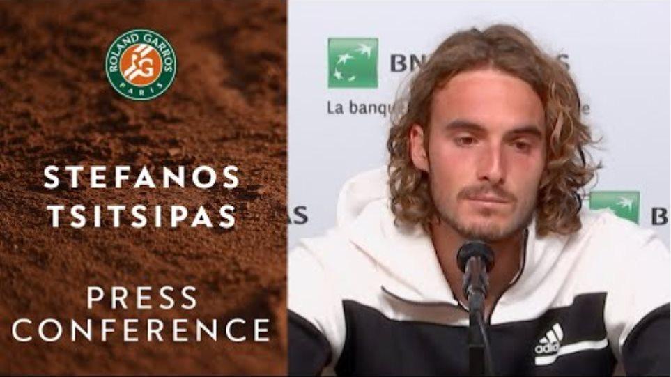 Stefanos Tsitsipas - Press Conference after Semi-final | Roland-Garros 2020