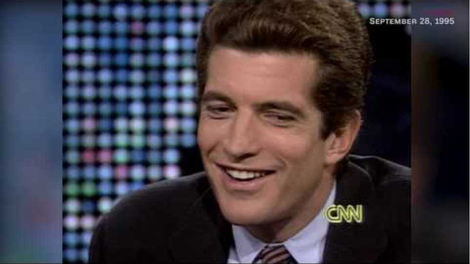 John F. Kennedy Jr. - Larry King Interview (September 1995) HD