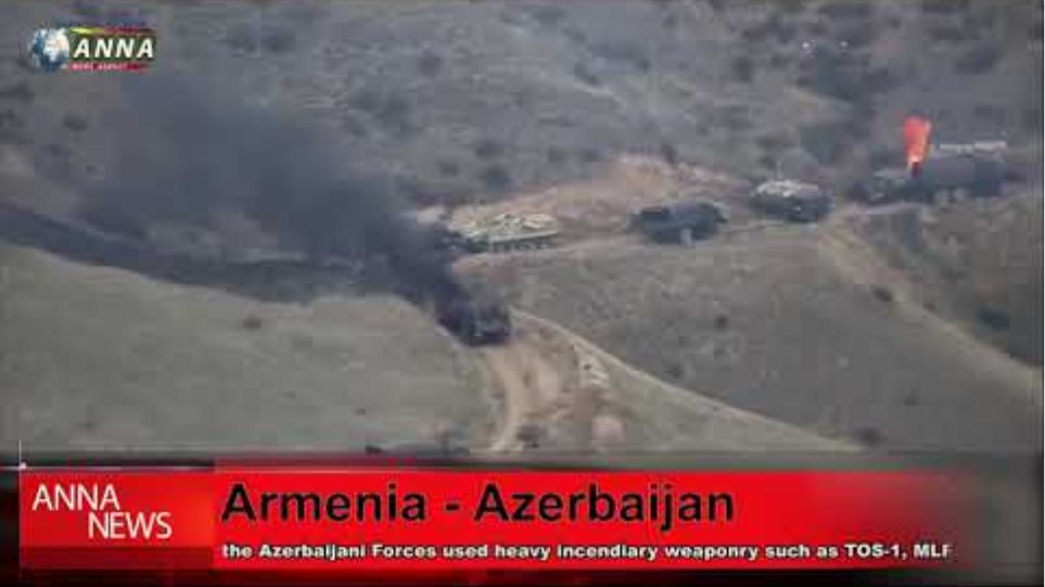 The Azerbaijani Armed Forces attacked Armenia