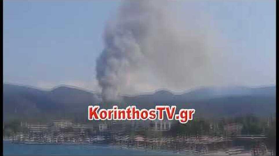 ίντεο από την φωτιά στην Άνω ΑΛμυρή