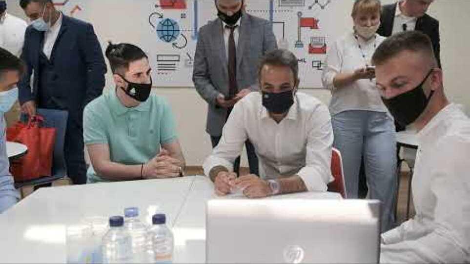 Επίσκεψη στο Εργαστήριο Πολυμέσων Xanthi Techlab στην Ξάνθη