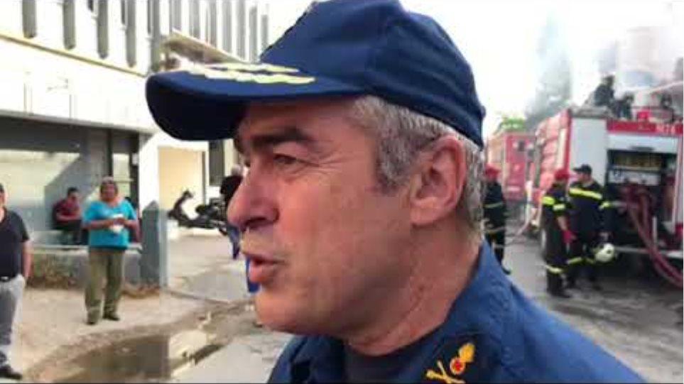 Υποστράτηγος - διοικητής πυροσβεστικής διοίκησης Αττικής