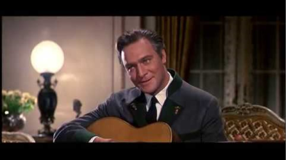 Edelweiss - Christopher Plummer's own voice - Sound of Music 1965