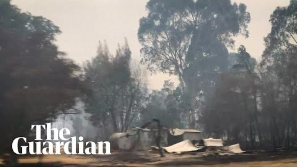 Destruction left in the wake of Victorian fires