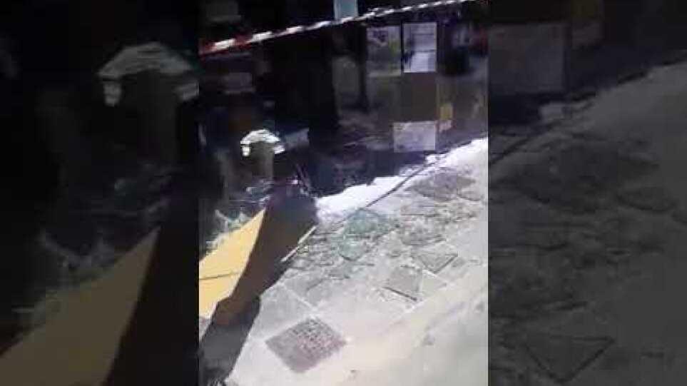 Κρήτη σεισμός Αρκαλοχώρι καταστροφές σε σπίτια και καταστήματα