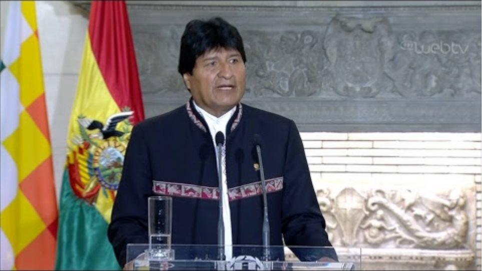 Κοινές δηλώσεις με τον Πρόεδρο της Βολιβίας Έβο Μοράλες