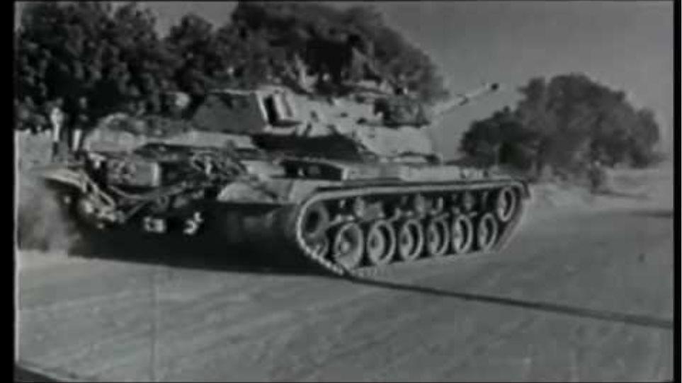 Πλάνα από την τουρκική εισβολή του 1974
