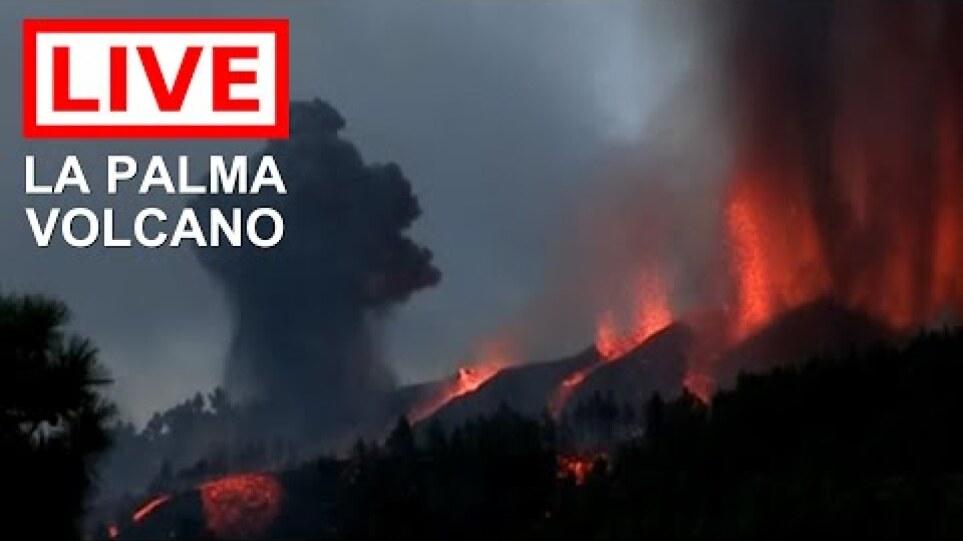 Έφτασε στον ωκεανό η λάβα από το ηφαίστειο στη Λα Πάλμα