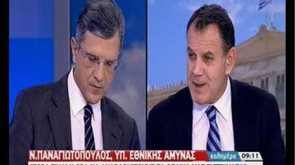 Ο Υπουργός Άμυνας, Νίκος Παναγιωτόπουλος, για τις συζητήσεις με την Τουρκία (2)
