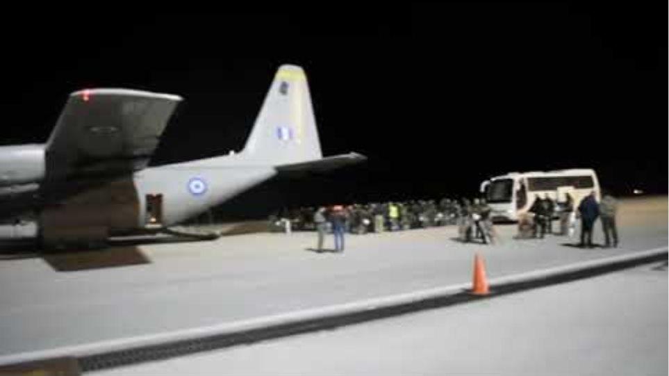 Βίντεο από την ενίσχυση των δυνάμεων ήδη από χθες το βράδυ