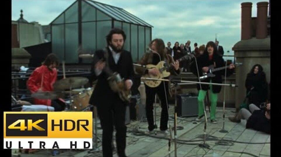 The Beatles - Get Back (4K Remastered, 2021)