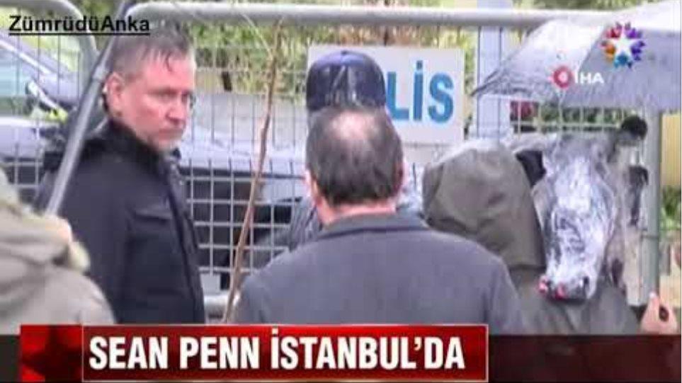 Hollywood yıldızı Sean Penn Cemal Kaşıkçı cinayeti için İstanbul'da
