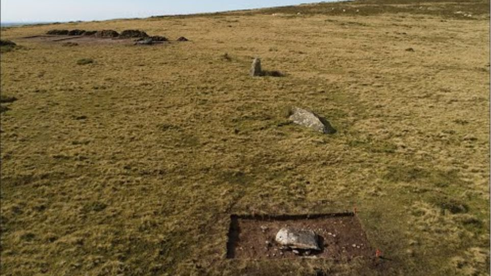 ✅  Bluestones from the stone circle, named Waun Mawn, could have been brought to Salisbury Plain as