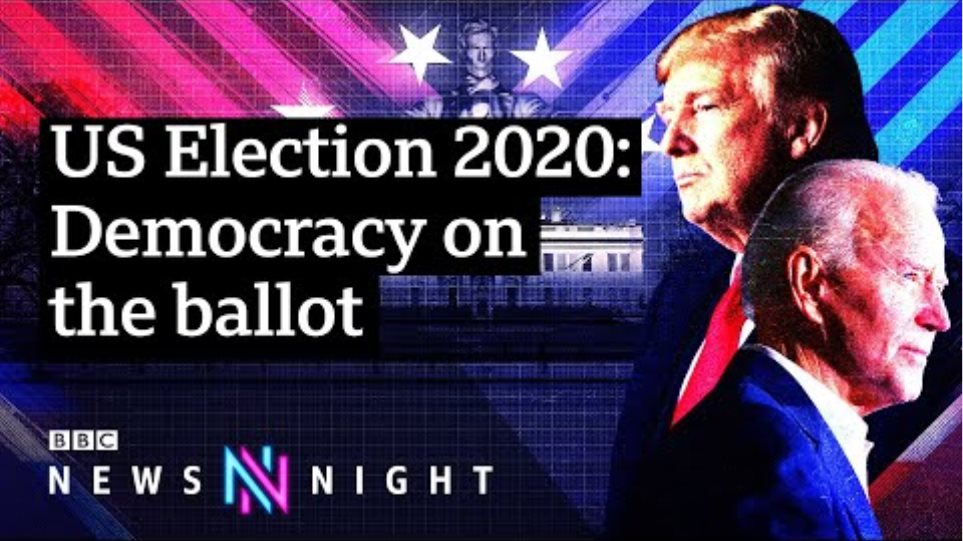 US election 2020: Is this set to be the most contested election? - BBC Newsnight
