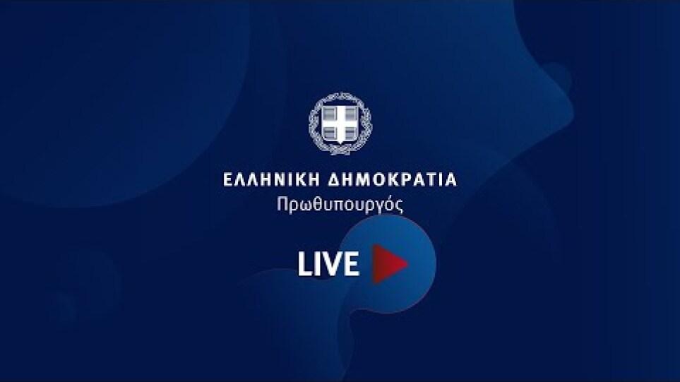 Συζήτηση Κυριάκου Μητσοτάκη - Γιάννη Ρέτσου στην 29η Τακτική Γενική Συνέλευση του ΣΕΤΕ