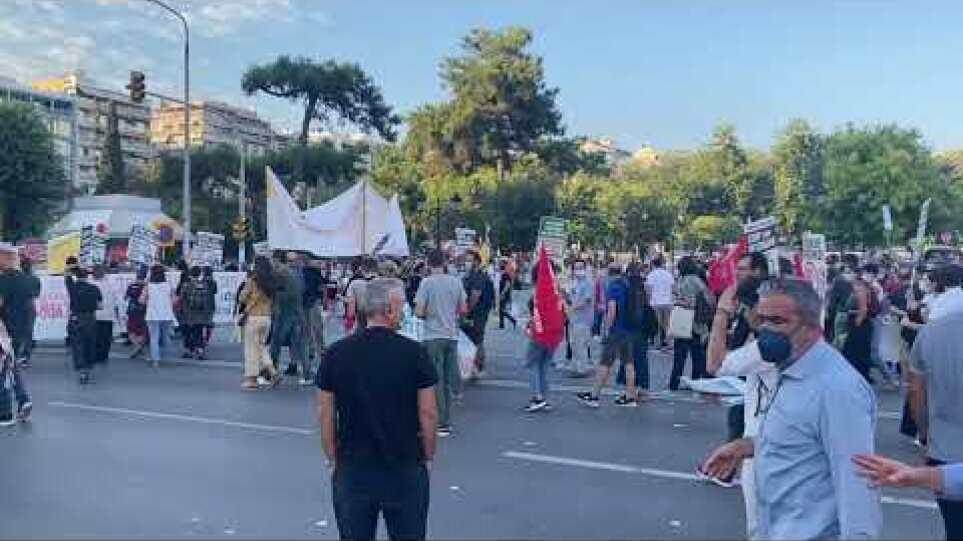 Thestival.gr Πορεία ΑΔΕΔΥ για την 85η ΔΕΘ