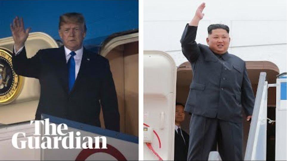 North Korea summit: Trump and Kim arrive in Singapore