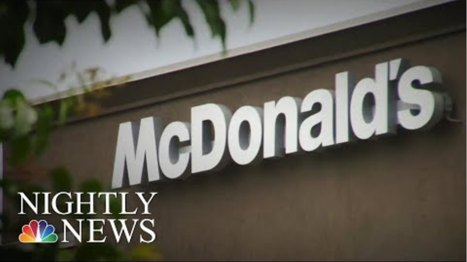 McDonald's CEO Out Over 'Poor Judgment' In Relationship With Employee | NBC Nightly News