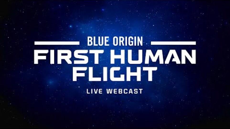 New Shepard First Human Flight