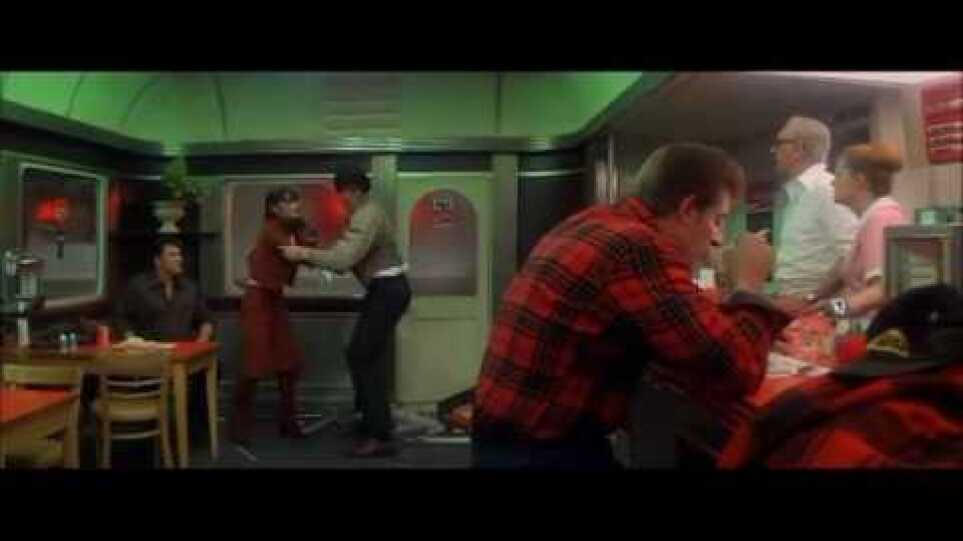 Superman II (1980) - The two fight scenes at the Diner.