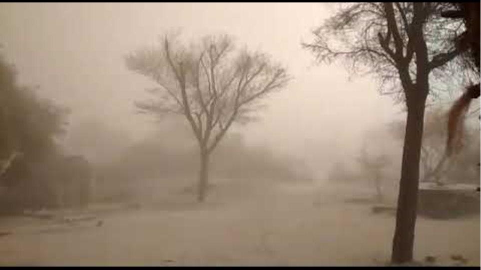 7/4/19 Sand storm in churu (Rajasthan)