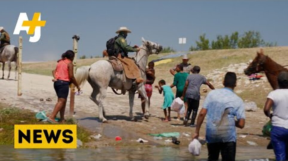 Border Patrol Use Whips And Horses To Chase Asylum Seekers