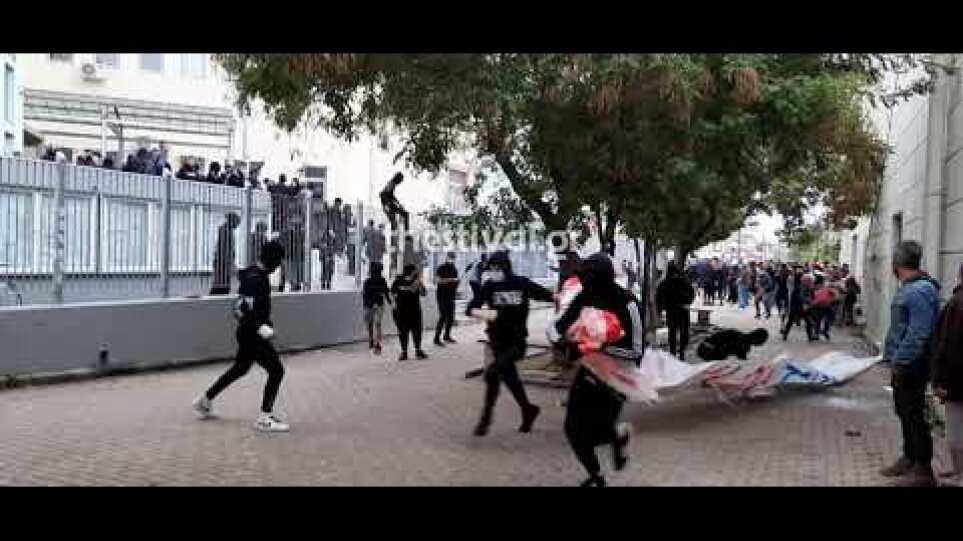 Thestival.gr Σοβαρά επεισόδια στο ΕΠΑΛ Σταυρούπολης