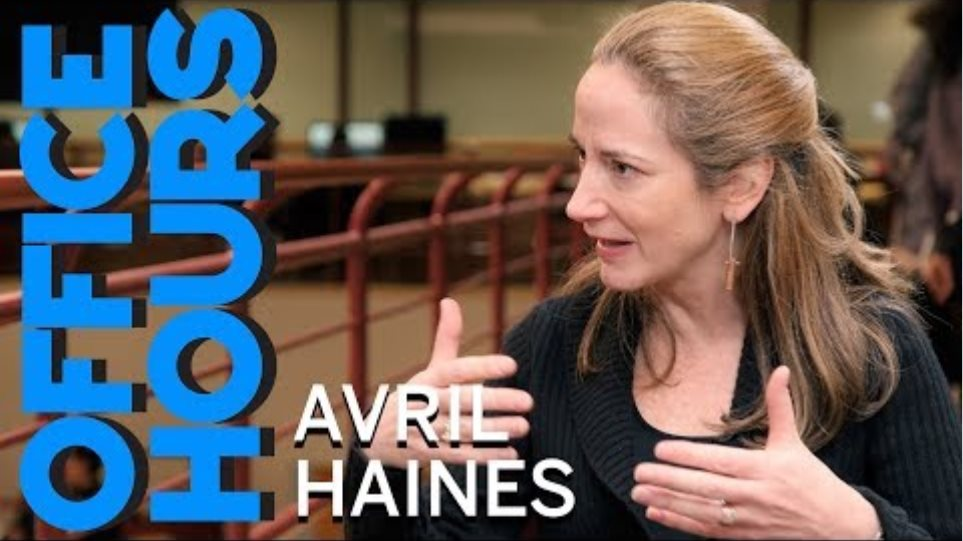 Avril Haines: From Living the Hipster Dream to Leading the CIA