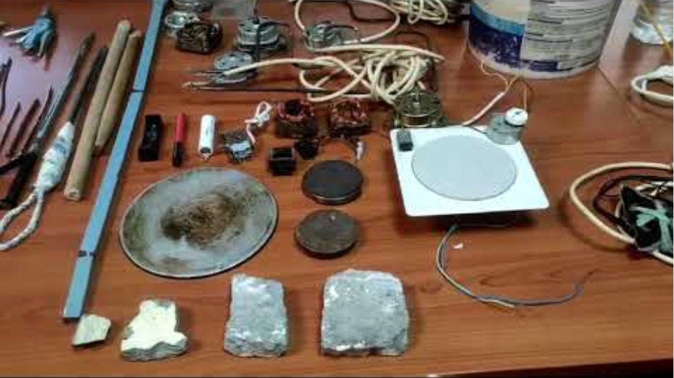 Κατασχεμένα έκτακτης έρευνας ευρείας κλίμακας στο Κατάστημα Κράτησης Τρικάλων