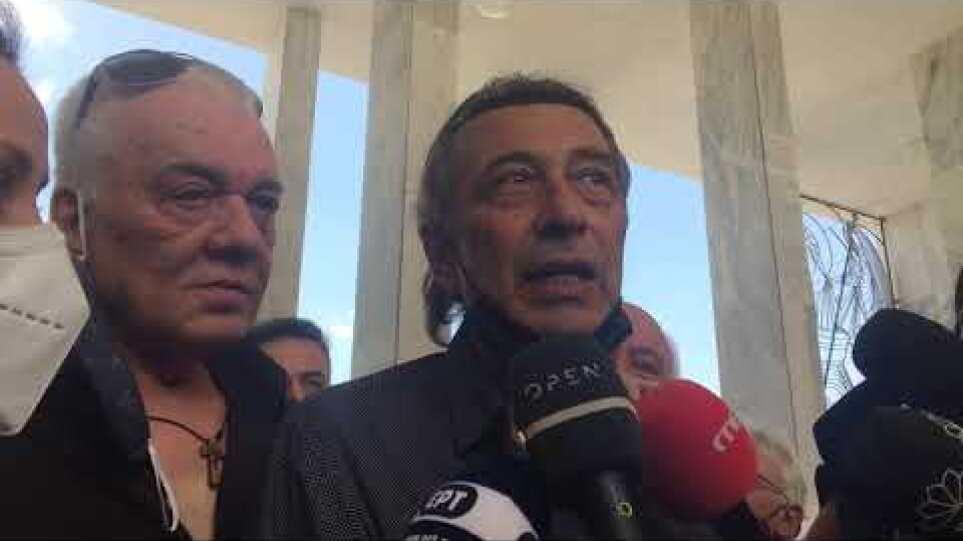 Κηδεία Βοσκόπουλος - Δήλωση Αντύπα