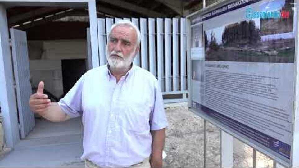 Αθανάσιος Μπίντας:Στον Κορινό Πιερίας  βρίσκεται ο τάφος της Ολυμπιάδας
