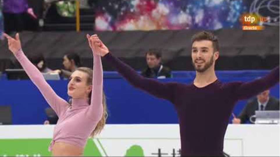 Gabriella PAPADAKIS & Guillaume CIZERON FRA Free Dance 2019 World Championships